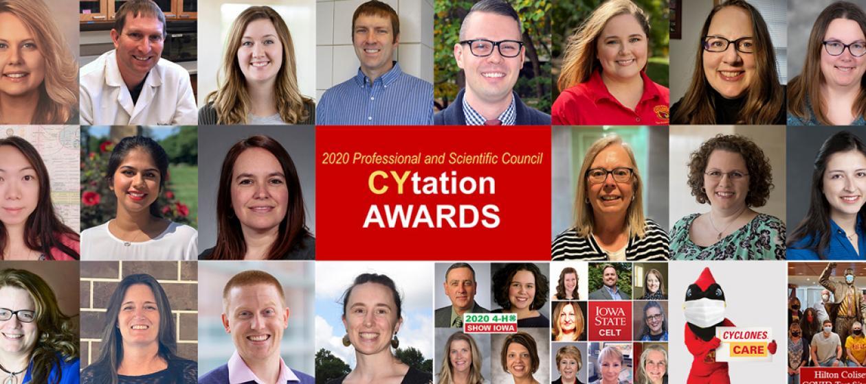 Congratulations to our 2020 CYtation Award recipients!