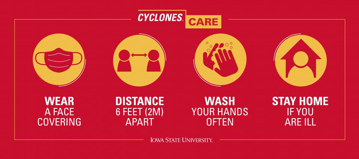 We ALL play a role in the health of Iowa State!